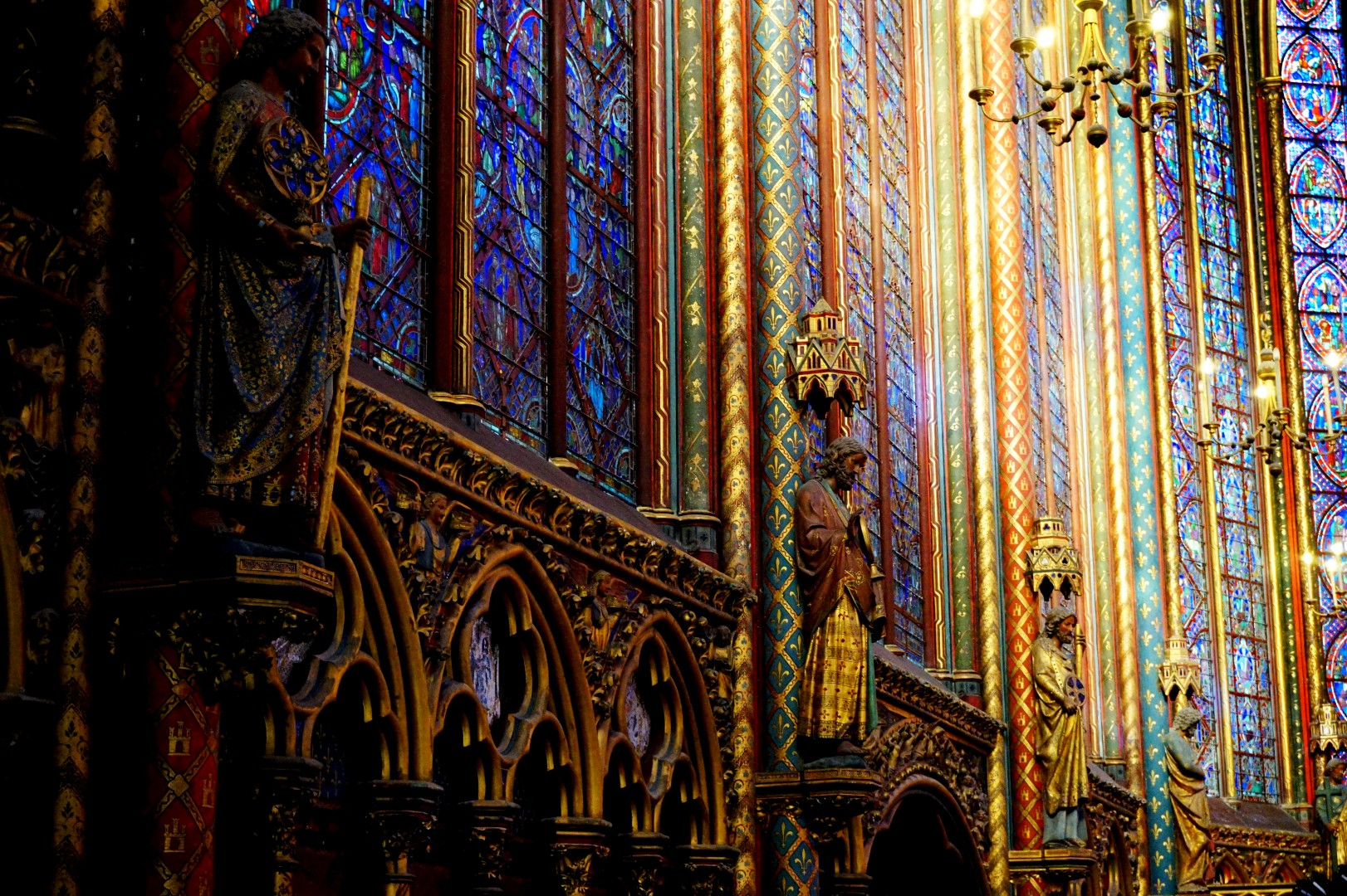 Sainte Chapelle - Chapelle Haute - Paris