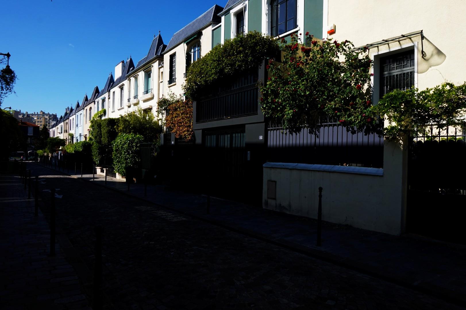 Balade autour de la Butte aux Cailles ( 13e) - Rue Dieulafoy
