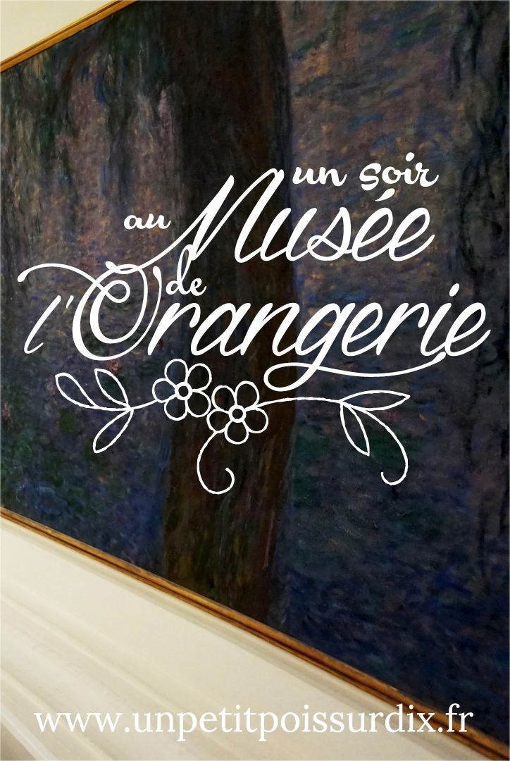 Musée de l'Orangerie, Paris