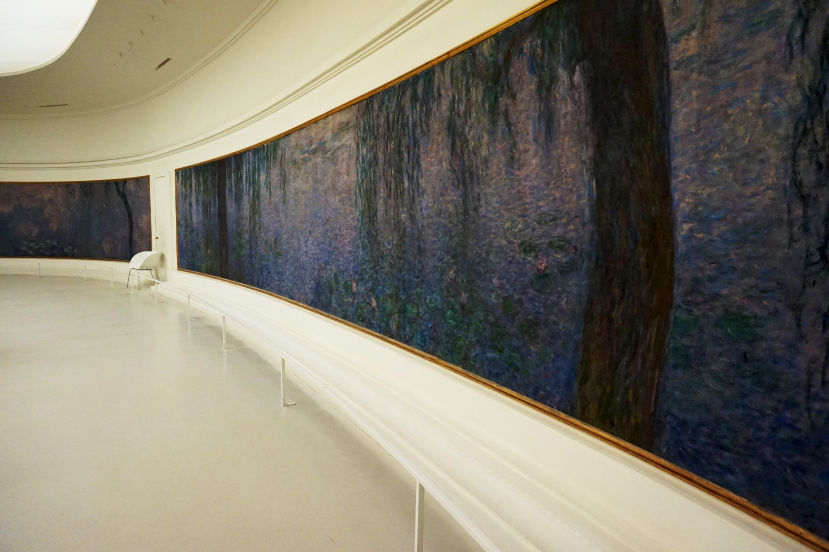 Musée de l'Orangerie, Paris - Les Nymphéas, Monet