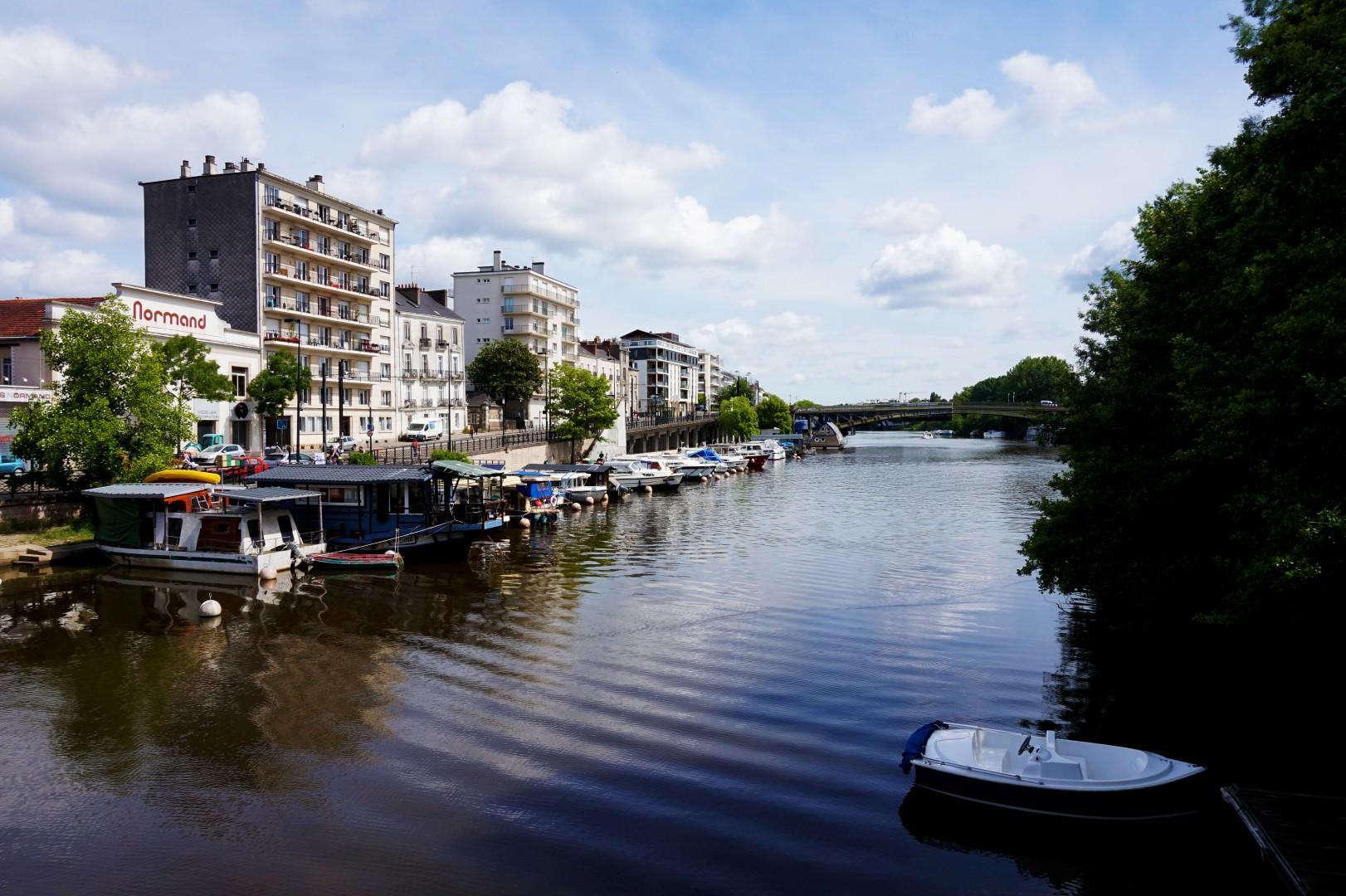 Un weekend à Nantes - L'Erdre