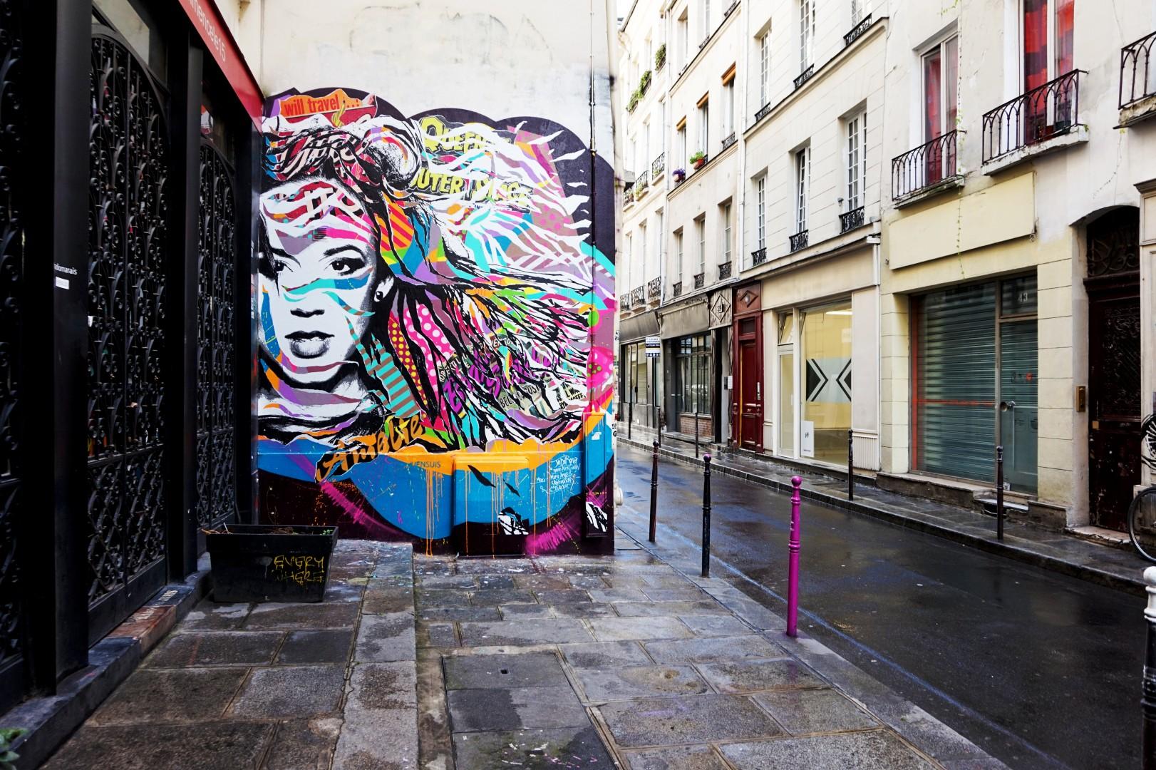 Balade dans le quartier Arts et Métier (3e) - rue Chapon