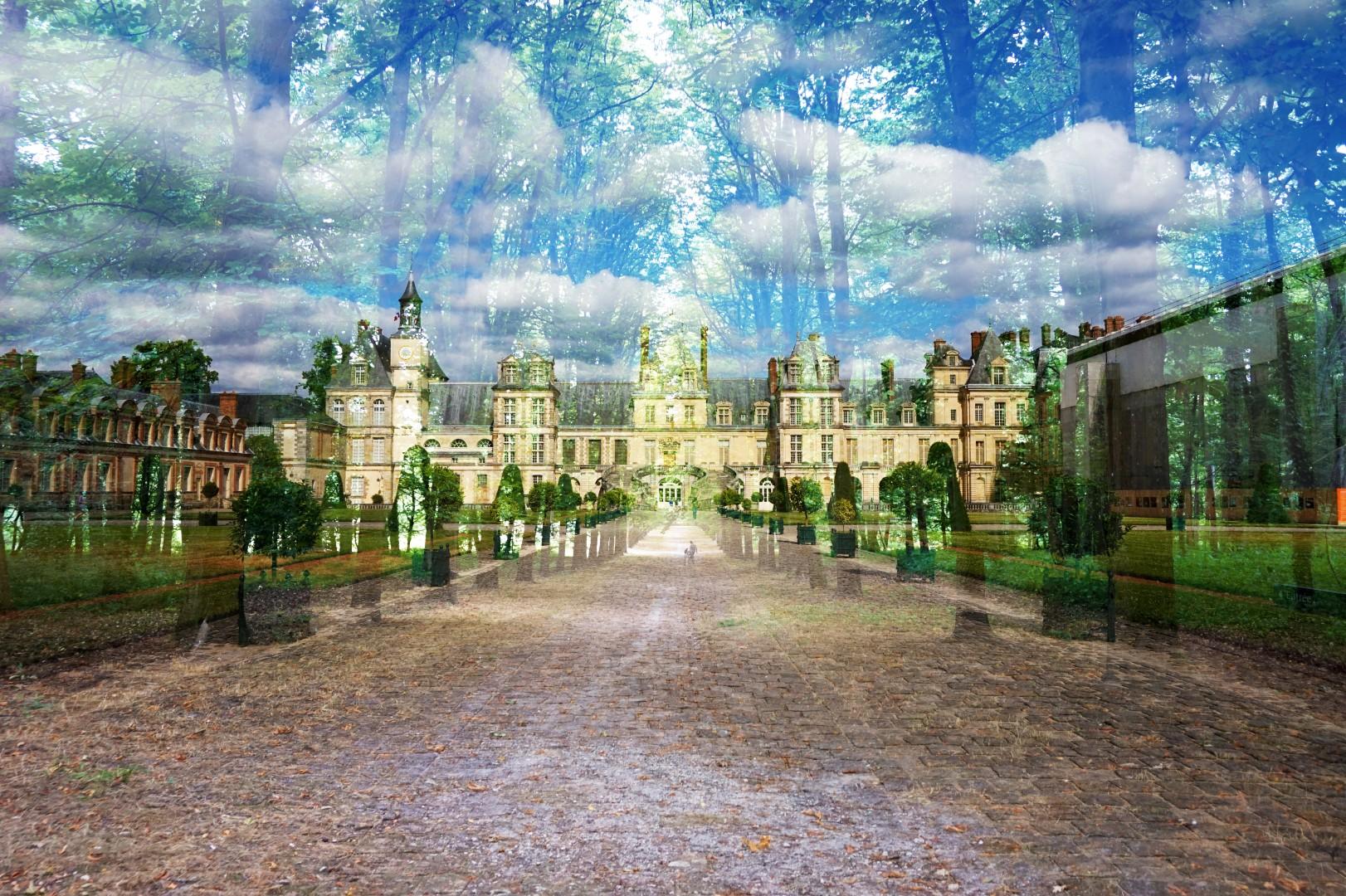 Château de Fontainebleau - Double exposition