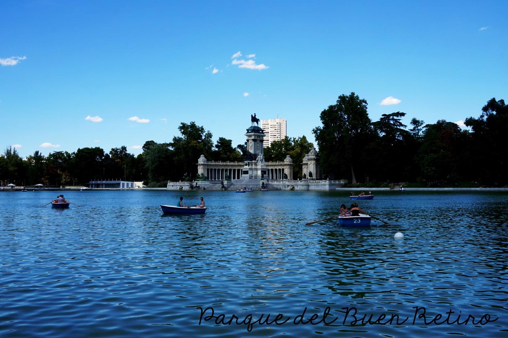 Madrid - Le Retiro