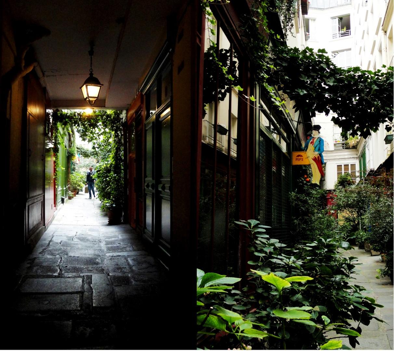 Balade dans le quartier Arts et Métier (3e) - Passage de l'Ancre