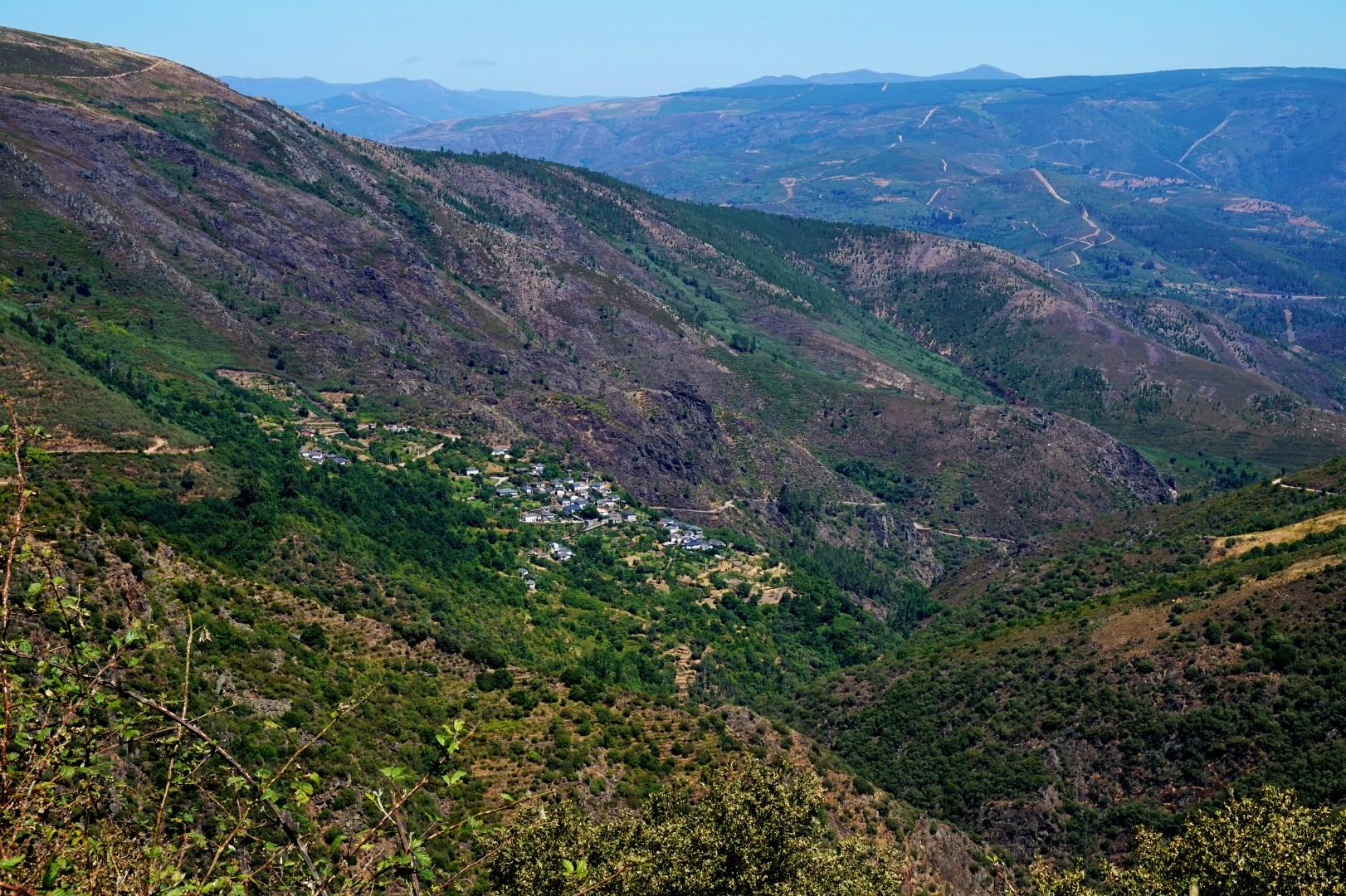 Sur les routes de Galice - Puebla de Trives - La Montagne