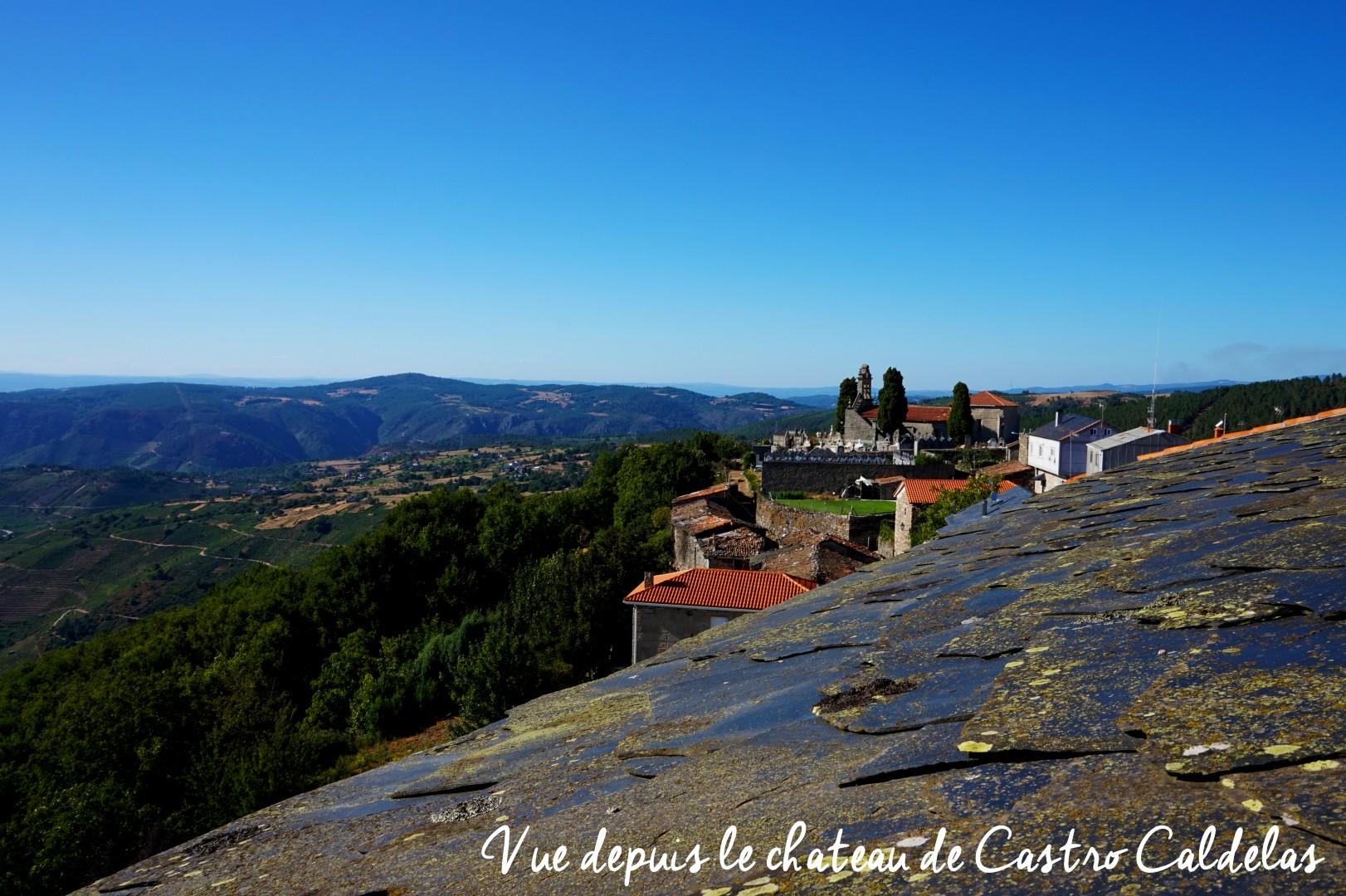 Sur les routes de Galice - Castro Cadelas