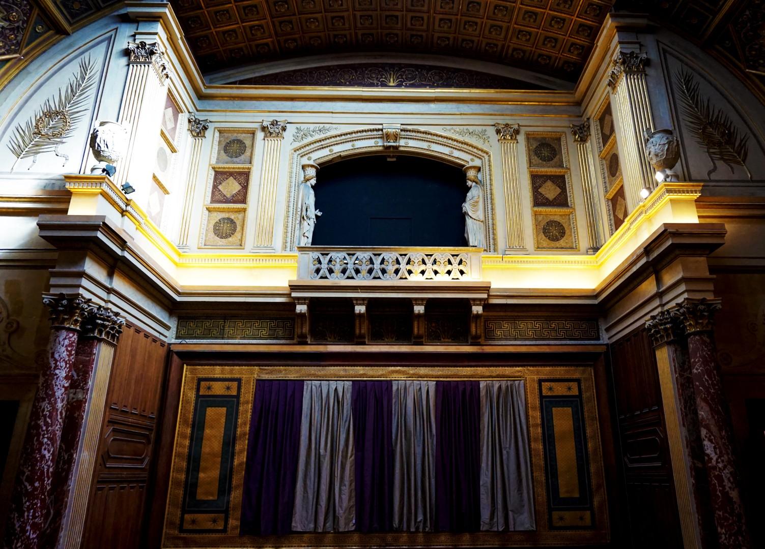 Beaux Arts de Paris - Hémicycle d'honneur