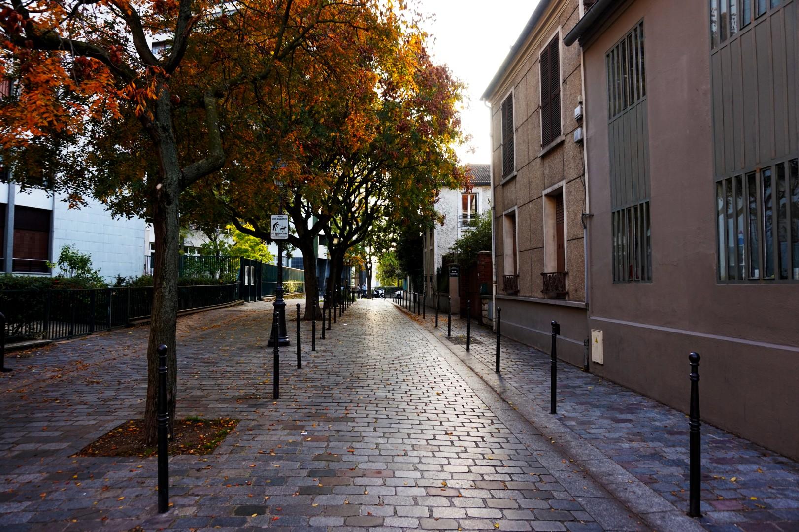 Balade dans le 19e et 20e - Autour de la rue du Borrégo