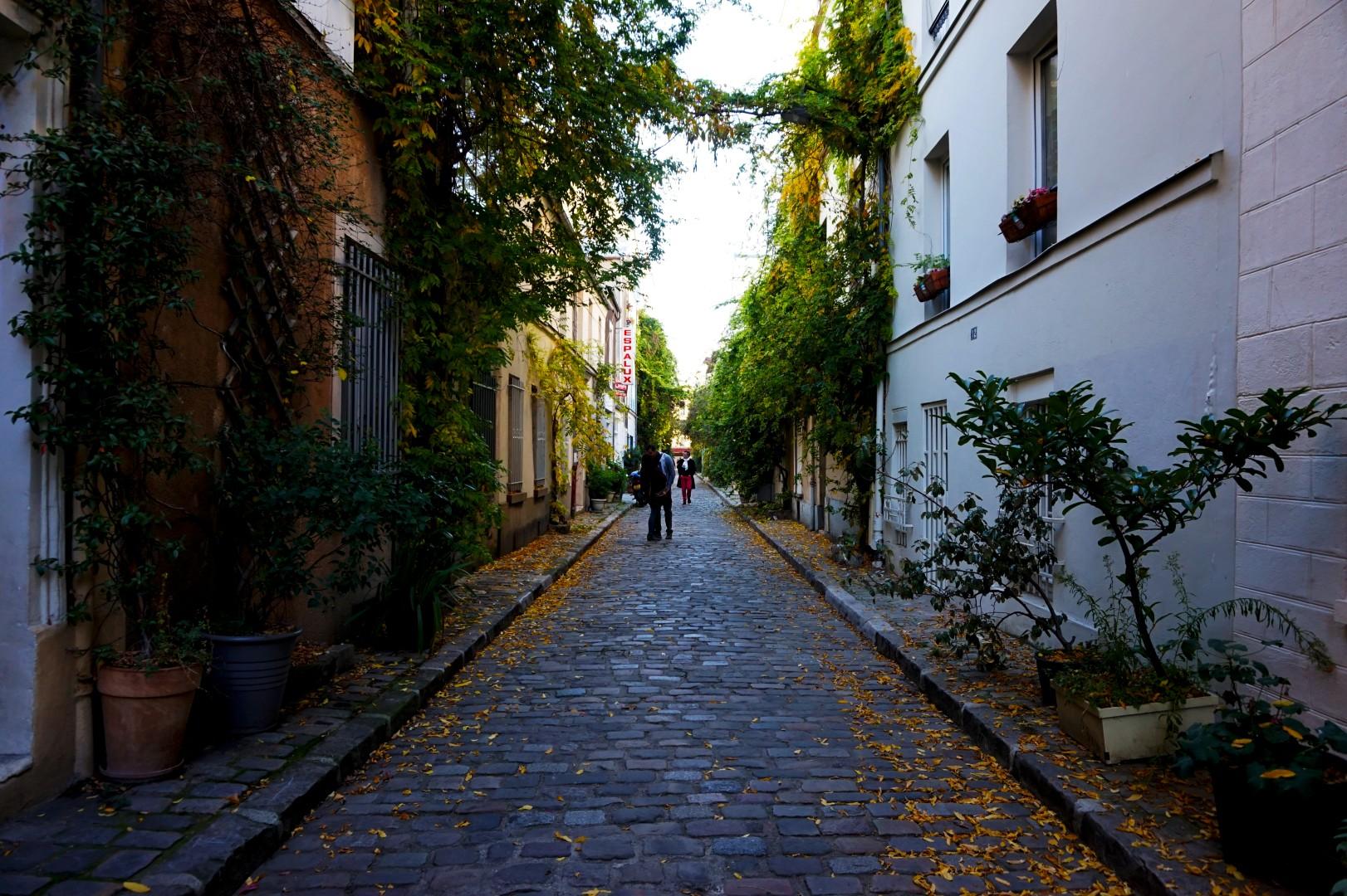 La rue des Thermopyles, 14e