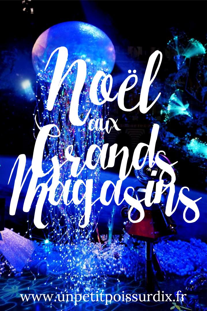 Noël 2015 aux Grands Magasins Haussmann