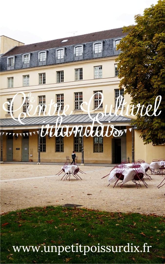 Centre Culturel Irlandais, Paris 5e