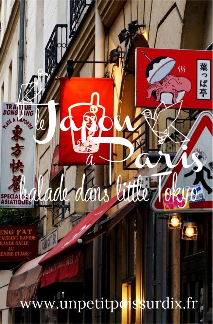 Balade dans Little Tokyo - Le quartier Japonais de Paris