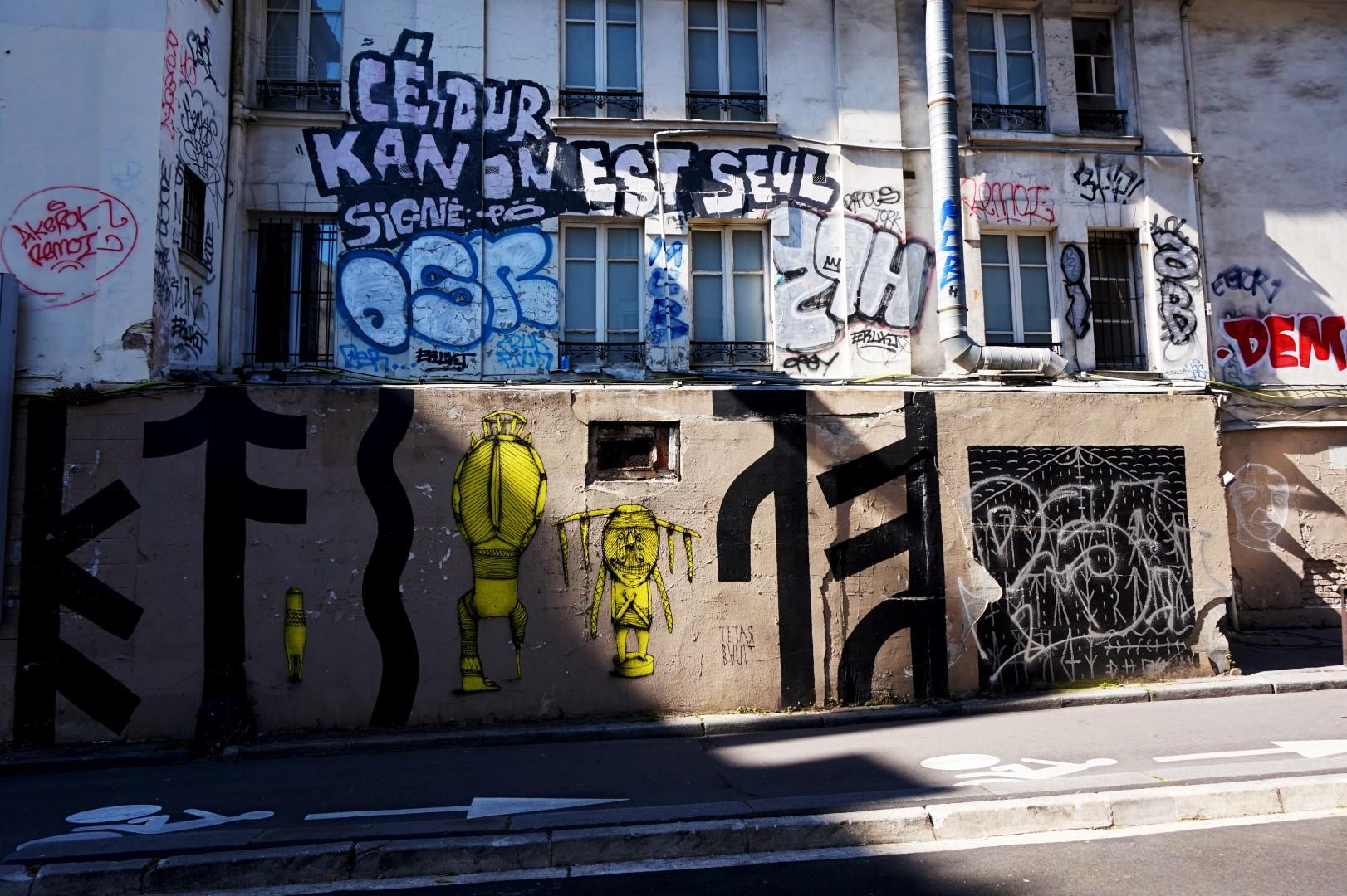 Balade dans le 11e - Vers la rue Frot