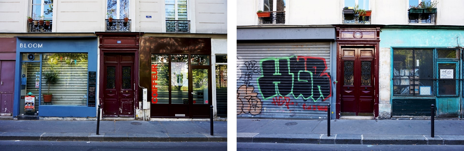 Balade dans le 11e - Rue de la Forge Royale