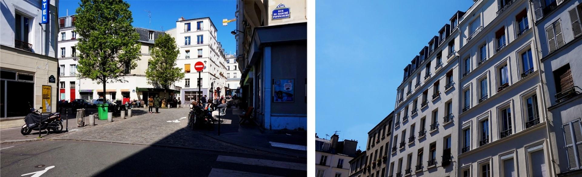 Balade dans le 11e - Rue du Marché Popincourt
