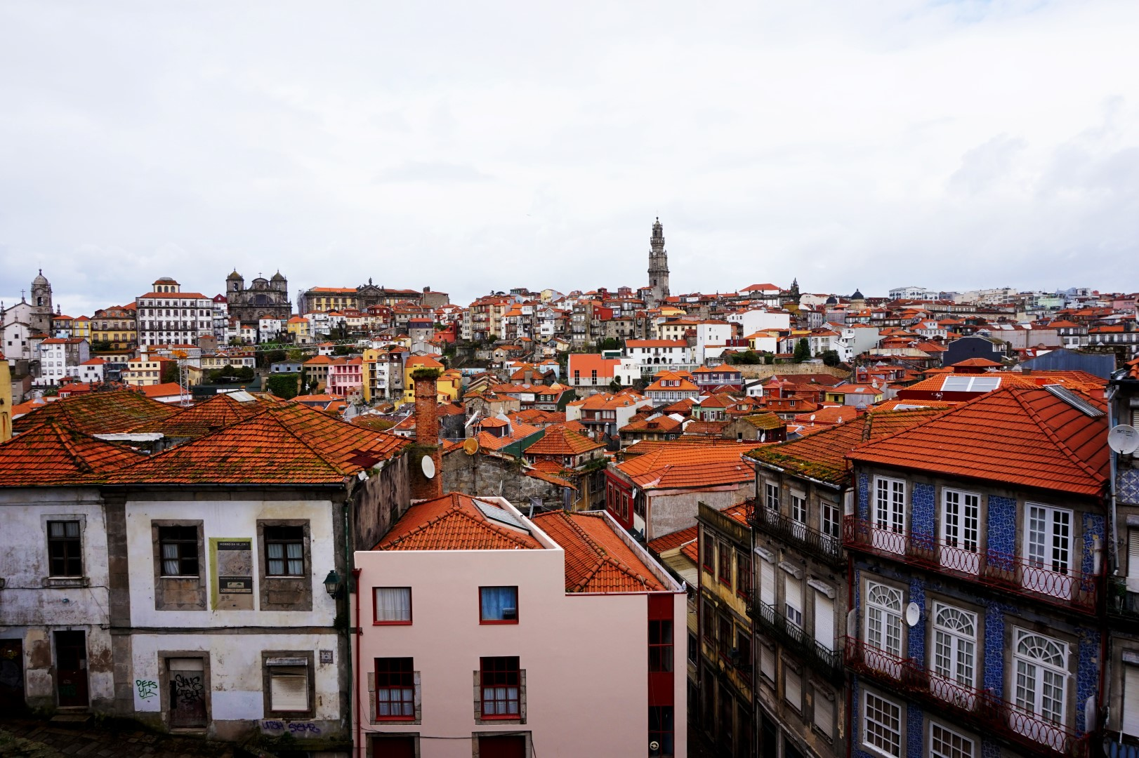 Porto - Vue de la cathédrale