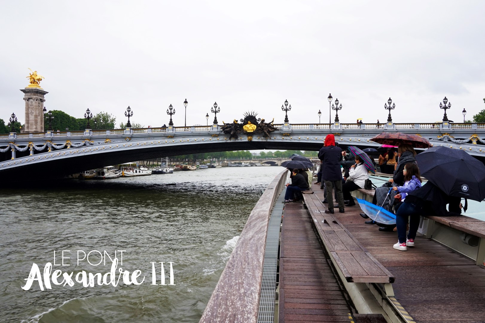Croisière sur la Seine - Bateaux Parisiens - Pont Alexandre III