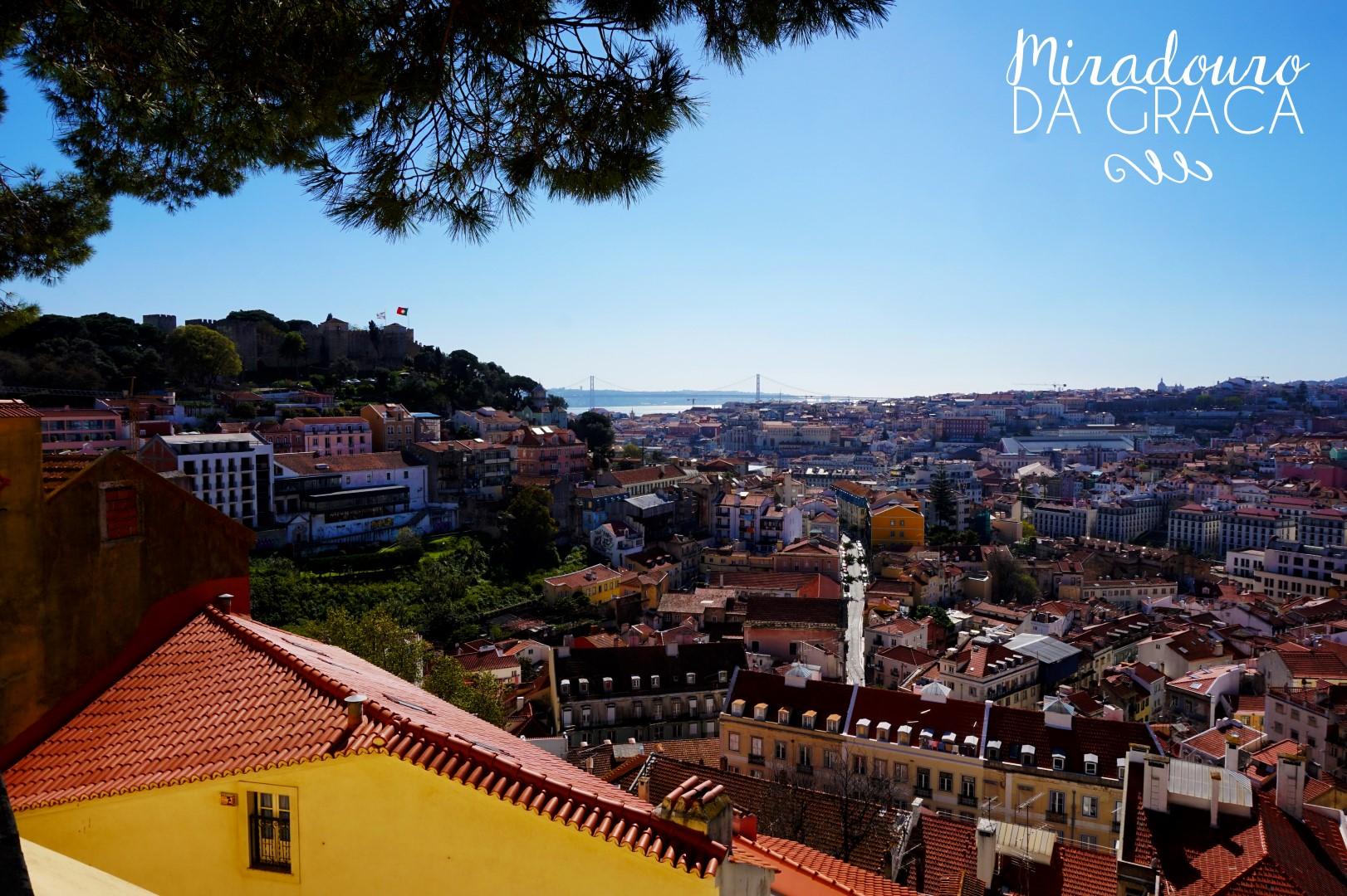 Lisbonne - Miradouro de Graça