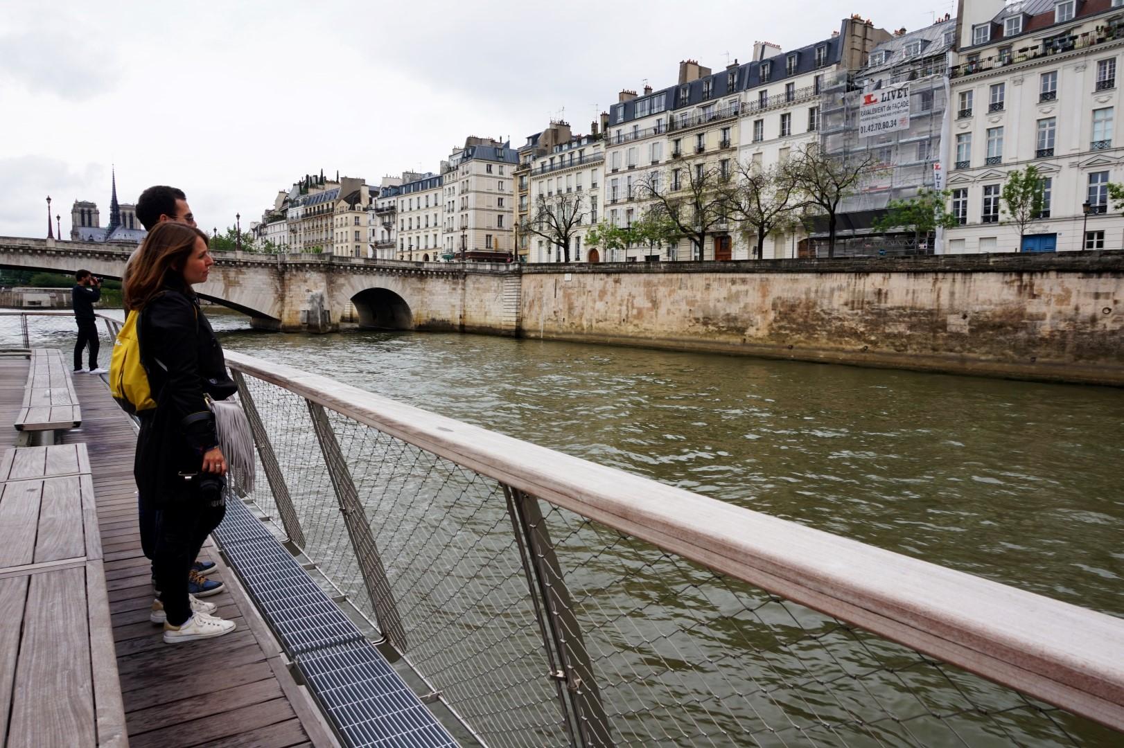 Croisière sur la Seine - Bateaux Parisiens - Ile Saint Louis