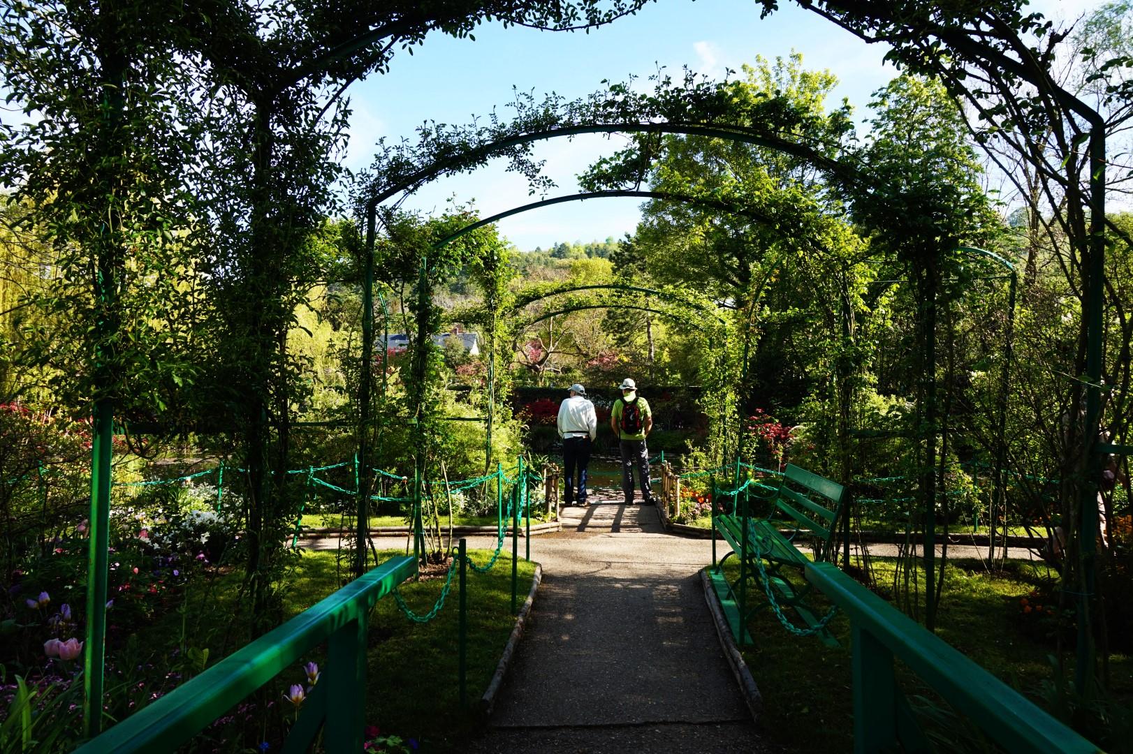 Balade dans les Jardins de Monet - Le jardin d'eau