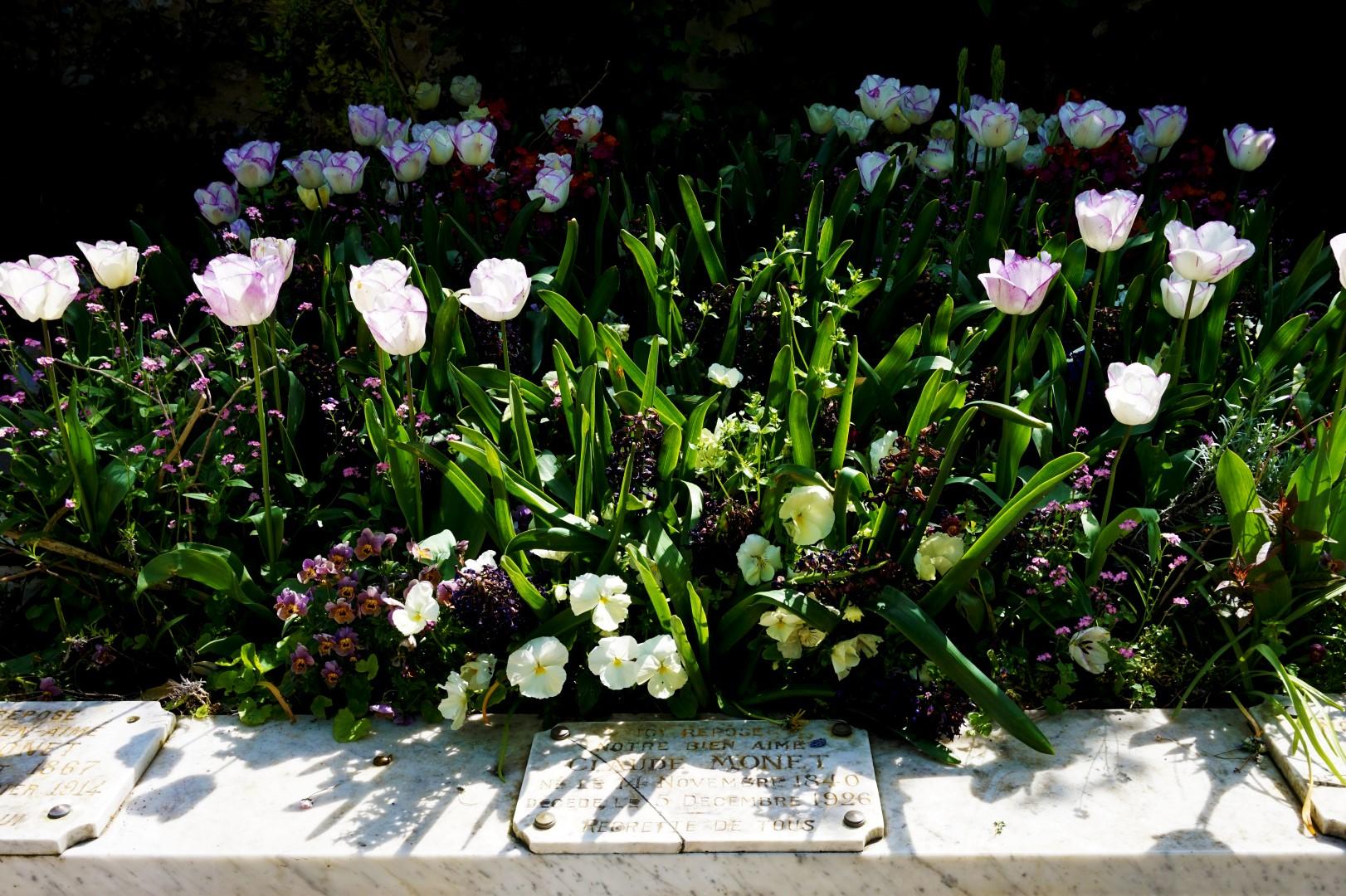 Balade dans Giverny - Tombe Claude Monet