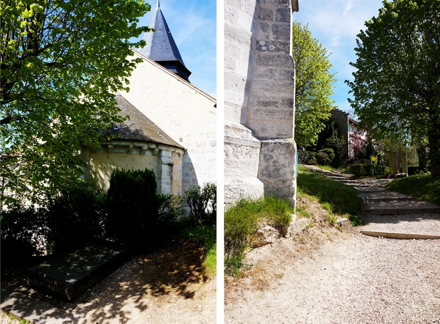 Balade dans Giverny - Eglise Sainte Radegonde