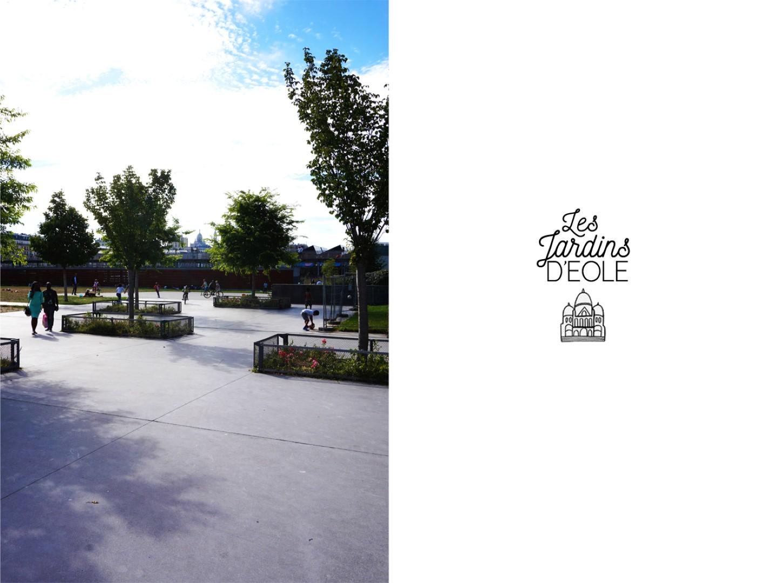 Les Jardins d'Eole Paris 18e