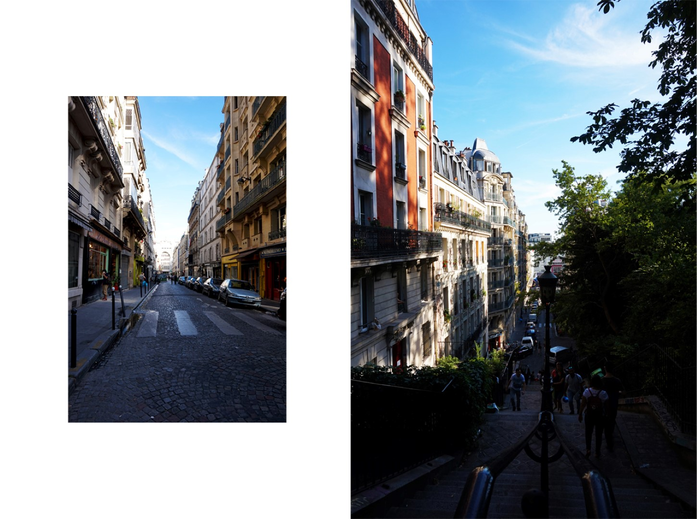 Balade dans le 18e - En bas de la butte Montmartre - Quartier Saint Pierre