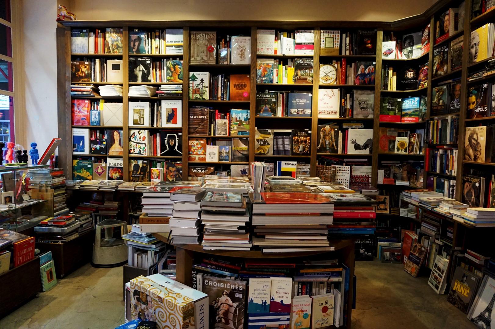 Librairie rue Dauphine