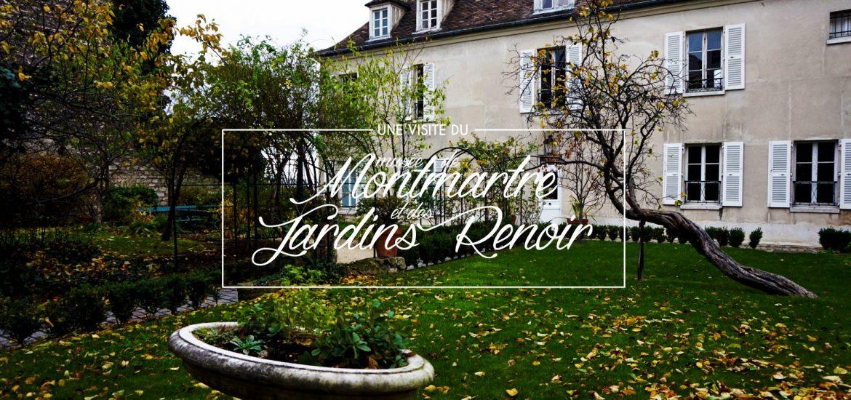 Une visite du mus e de montmartre et des jardins renoir - Les jardins de montmartre ...