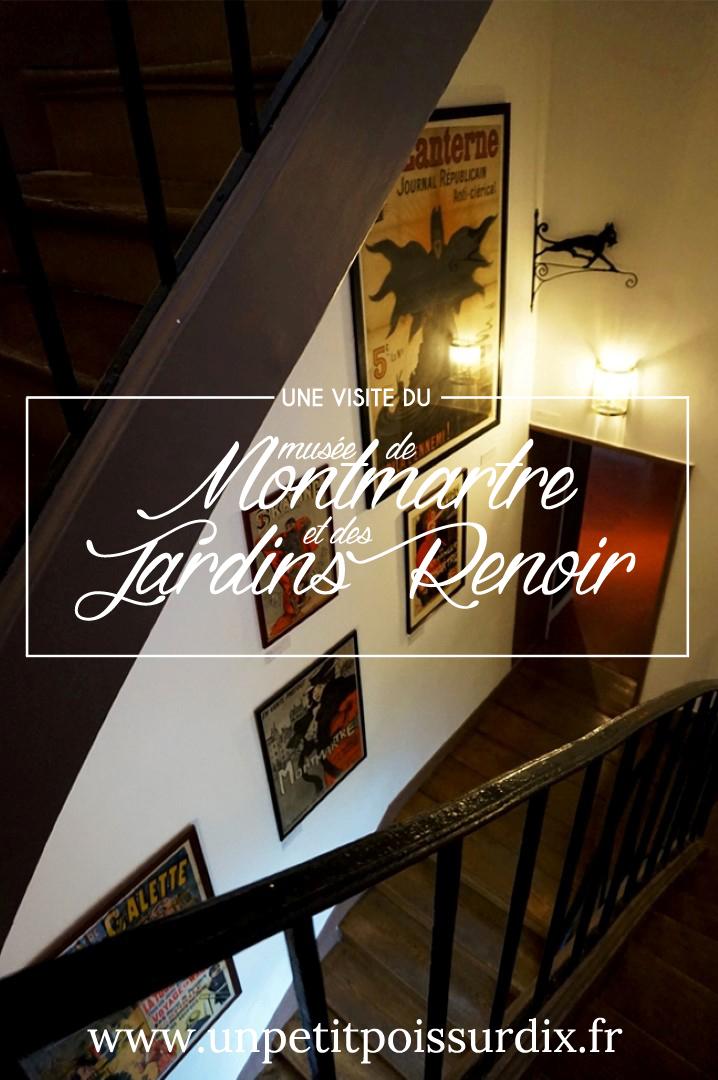 Visite du Musée de Montmartre - Paris secret et insolite
