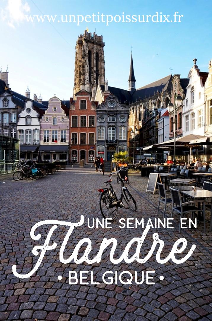 Une semaine en Flandre (Belgique) - Gand, Bruxelles, Malines, Anvers - City Guides