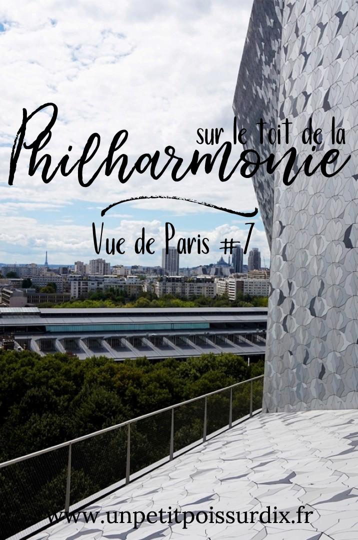 Vue de Paris #7 - Depuis le toit de la Philharmonie