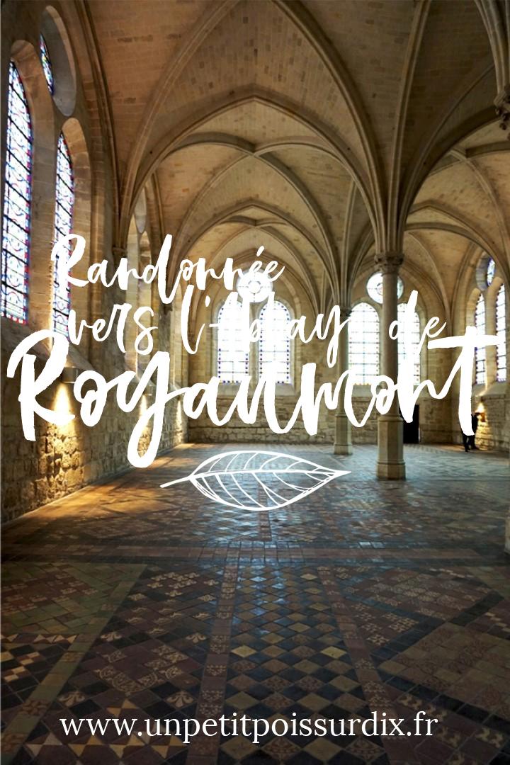 Randonnée et visite de l'Abbaye de Royaumont