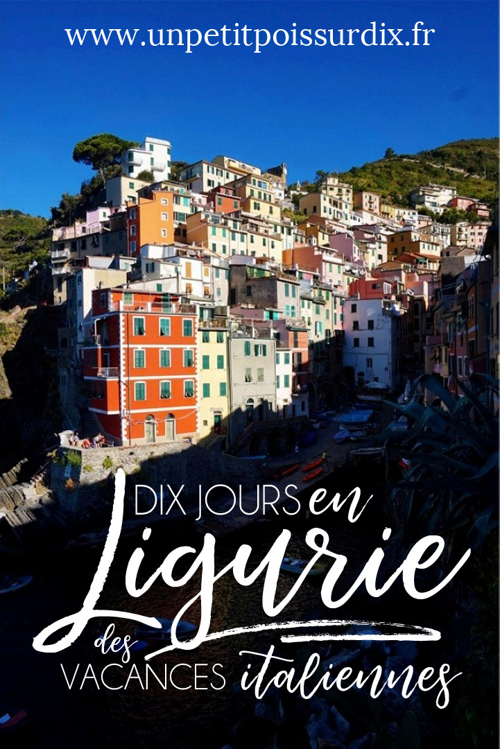 10 jours en Ligurie - Vacances en Italie. City guide et randonnées