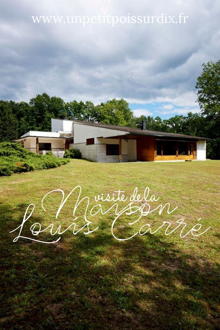 Visite de la Maison Louis Carré d'Alvar Aalto