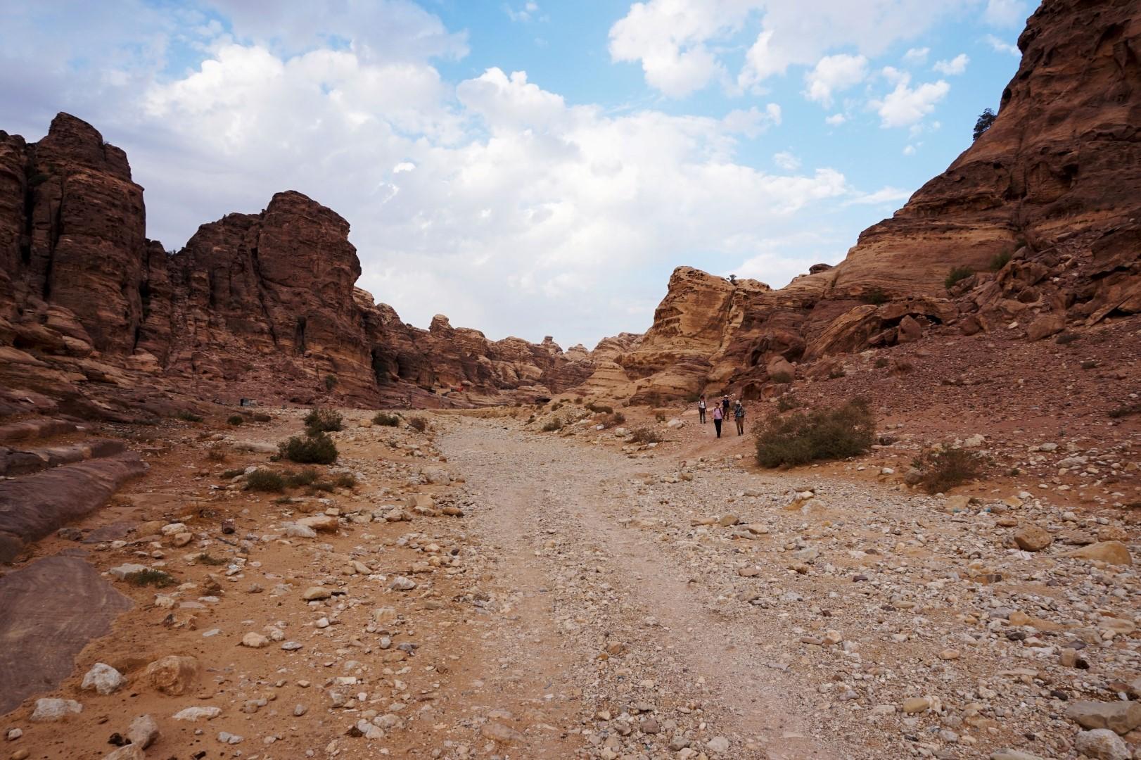Voyage en Jordanie - Petra Wadi-Rum - Entre Little Petra et Petra