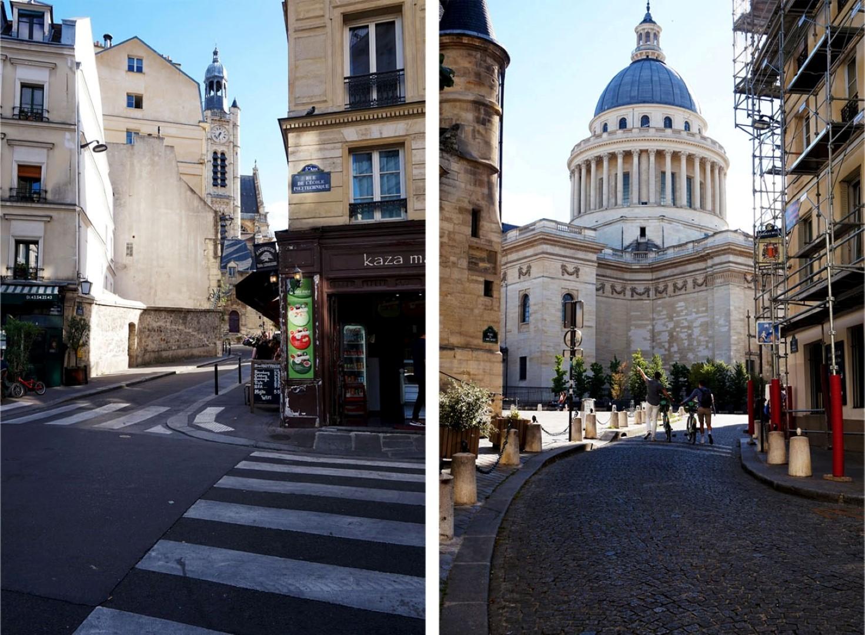 Balade dans le sud du 5e arrondissement de Paris - Saint Etienne du Mont et Panthéon