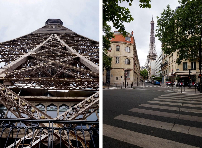 Tour Eiffel - Vue depuis le Square Rapp, Paris 7e