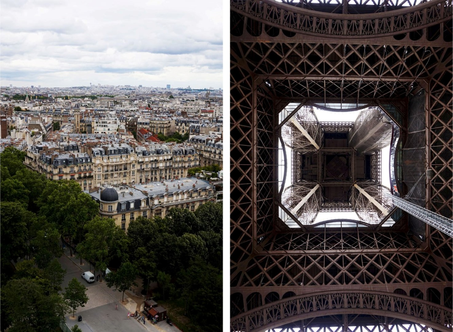 Tour Eiffel - Vue de Paris