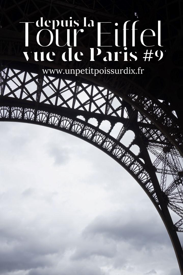 Visite de la Tour Eiffel et découverte de la vue sur Paris depuis le second étage
