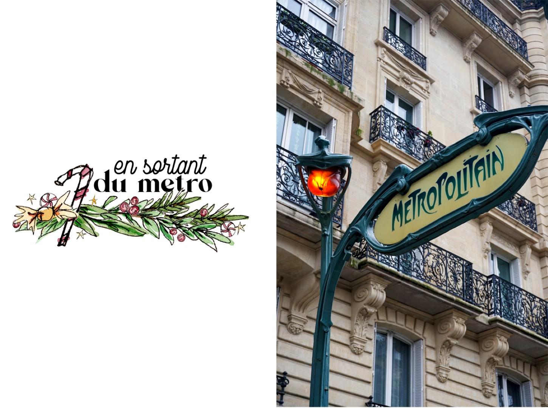 Balade dans les 6e et 7e arrondissements, en attendant Noël - Station de métro Guimard