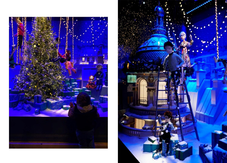 Balade dans les 6e et 7e arrondissements, en attendant Noël - Vitrines de Noël du Printemps