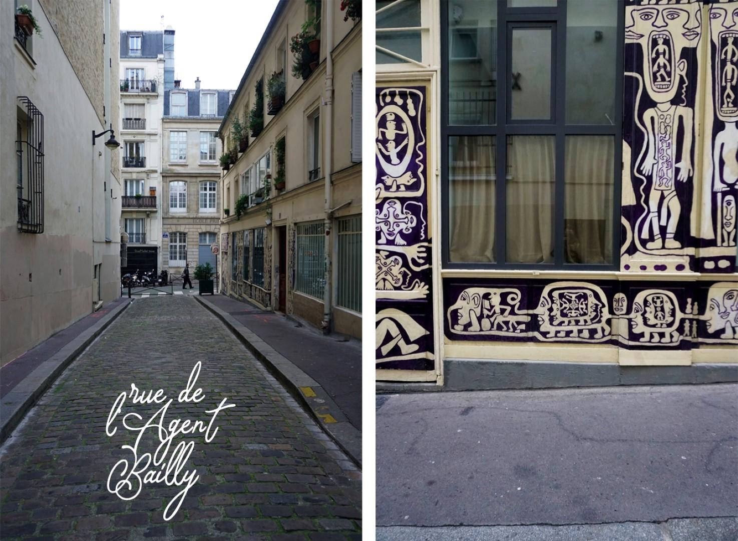 Rue de l'Agent Bailly - Balade dans les 9e et 10e arrondissements de Paris - De place de la République à Pigalle