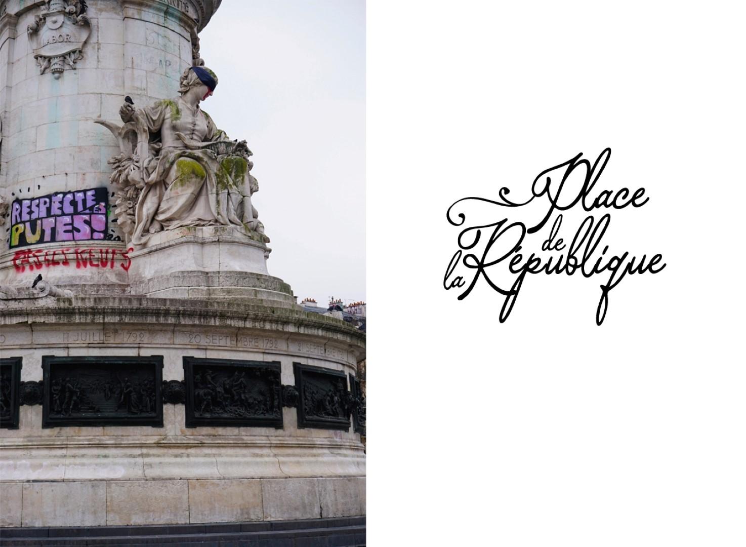Place de la République - Balade dans les 9e et 10e arrondissements de Paris - De place de la République à Pigalle