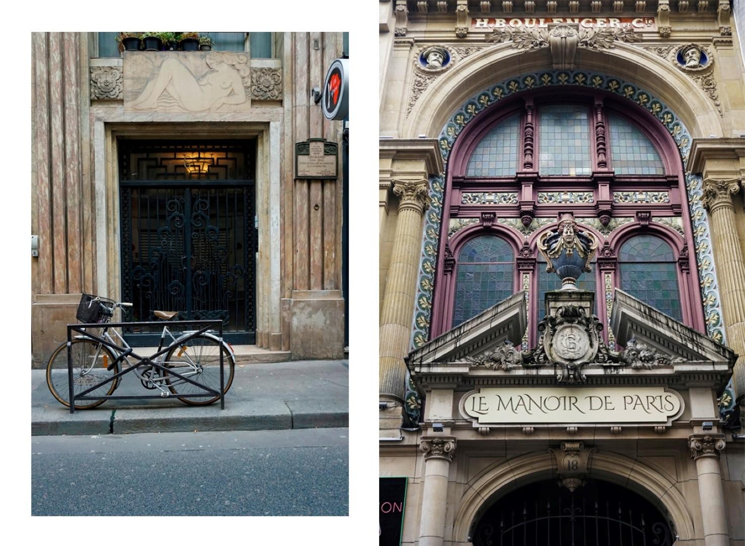 Le Manoir de Paris, rue de Paradis- Balade dans les 9e et 10e arrondissements de Paris - De place de la République à Pigalle