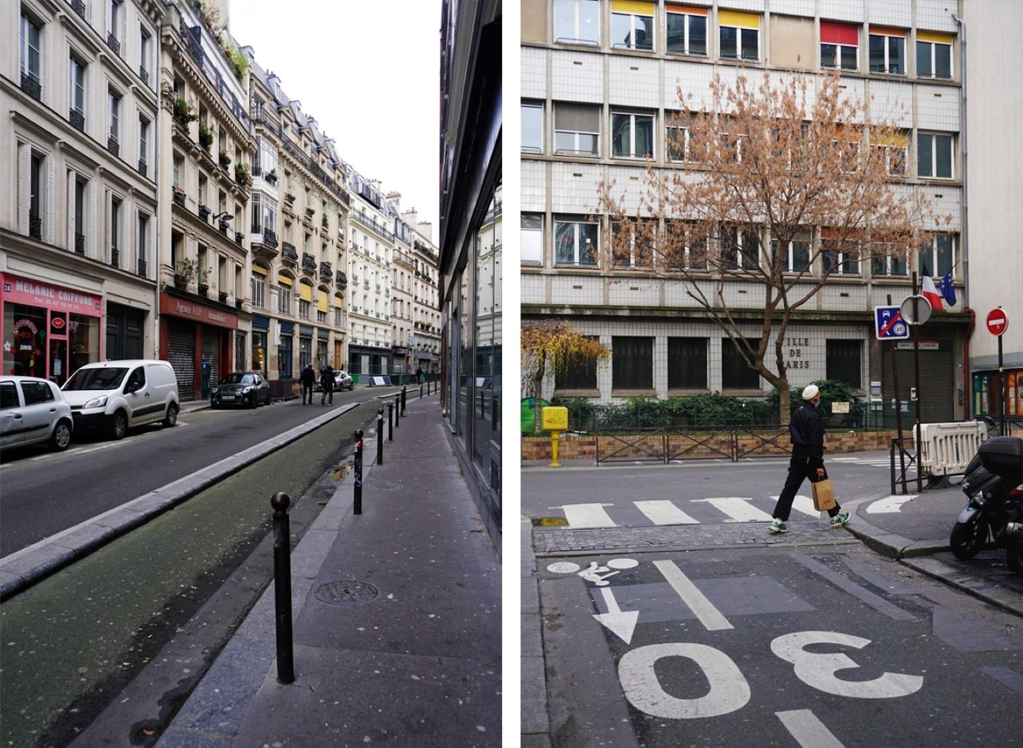 Rue Martel - Balade dans les 9e et 10e arrondissements de Paris - De place de la République à Pigalle
