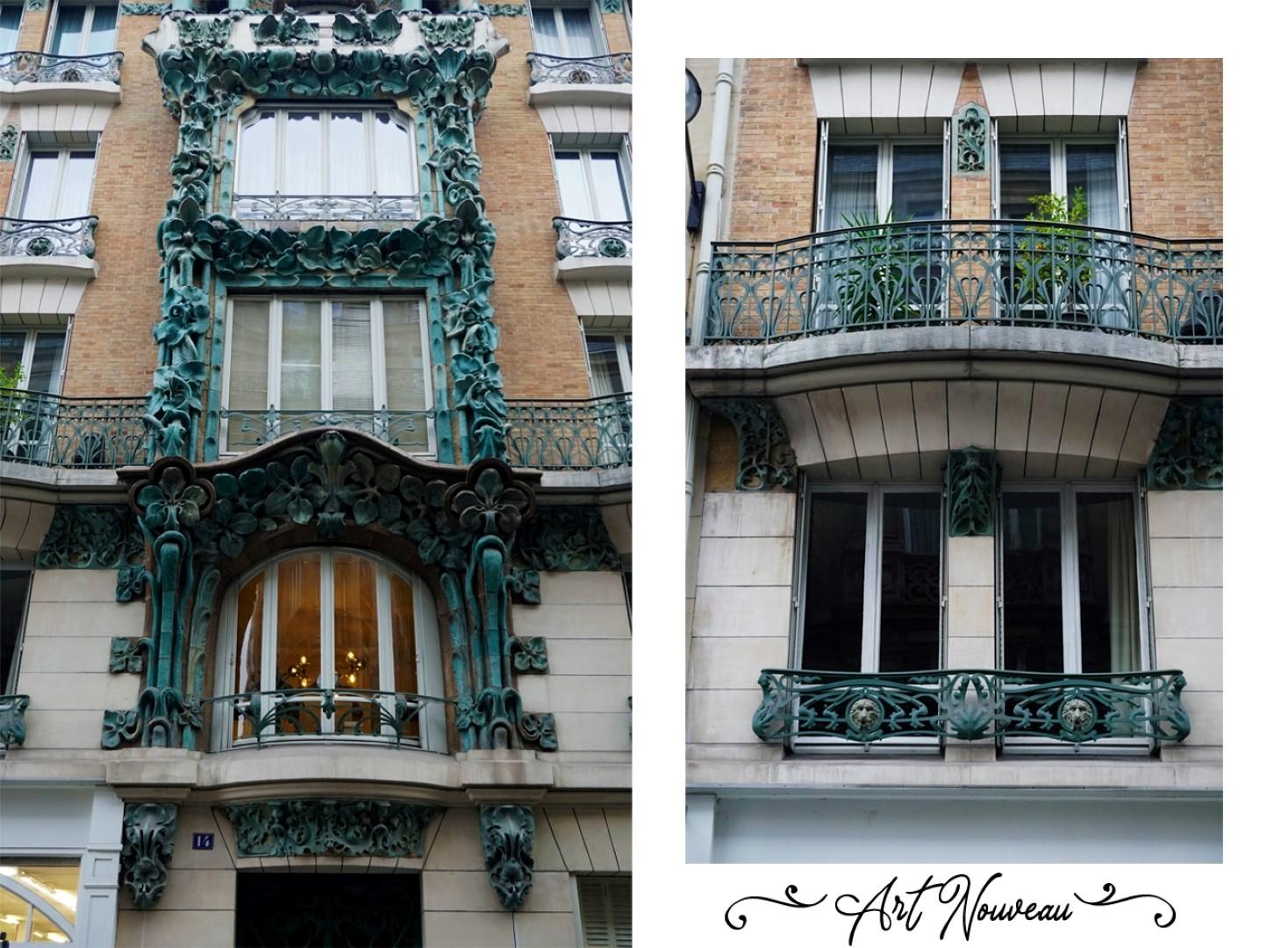 Art nouveau rue d'Abbeville - Balade dans les 9e et 10e arrondissements de Paris - De place de la République à Pigalle