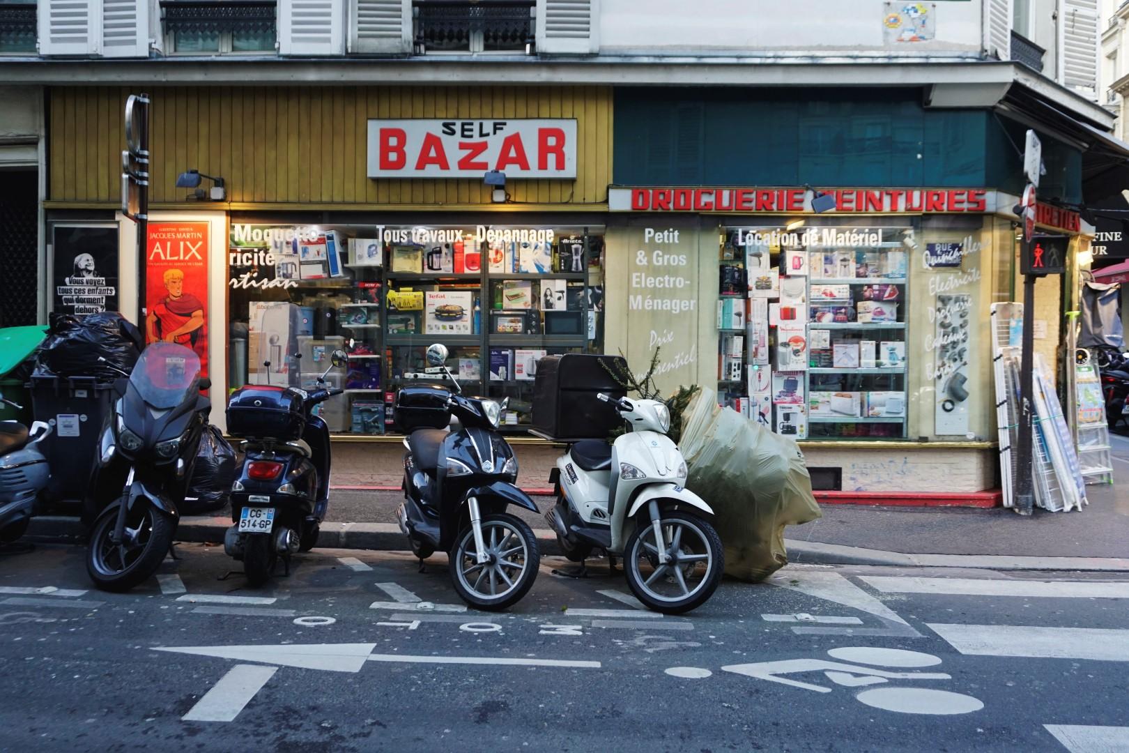 Ancienne devanture rue Rochechouart- Balade dans les 9e et 10e arrondissements de Paris - De place de la République à Pigalle